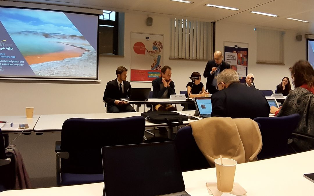 Two days Geothermal Brussels events
