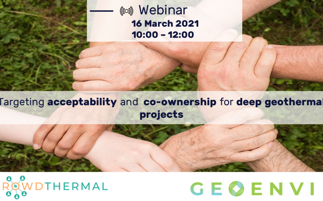 GEOENVI/CROWDTHERMAL webinar on public engagement – 16 March 2021